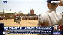 Les images de l'hommage du commando Hubert aux deux soldats français tués au Burkina Faso
