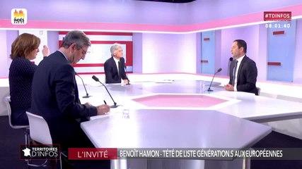 Benoît Hamon - Public Sénat mardi 14 mai 2019