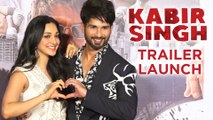 Shahid Kapoor REMEMBERS Kareena, Angry On Reporter | Kabir Singh Trailer Launch | Full Event