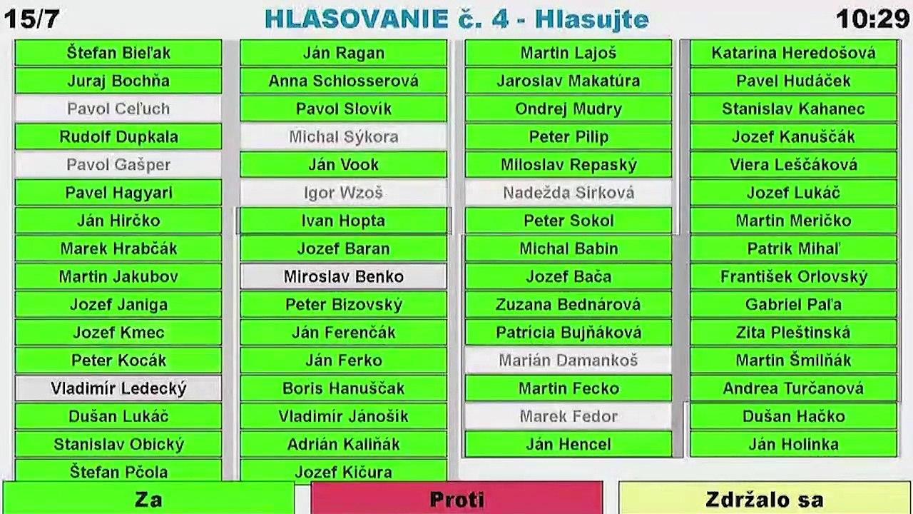 PREŠOV-PSK 13: Záznam zasadnutia Zastupiteľstva Prešovského samosprávneho kraja (PSK)