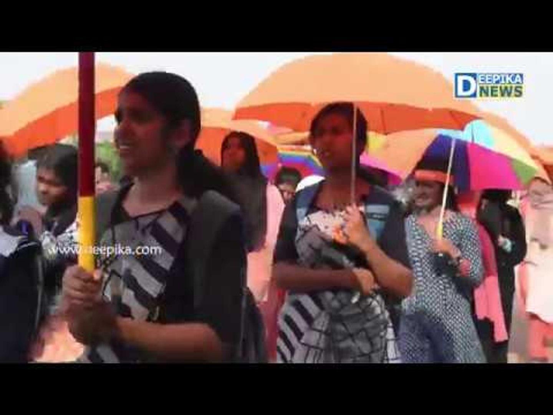 എംജി യൂണിവേഴ്സിറ്റി കലോല്സവം 2019നു മുന്നോടിയായി നടന്ന ഘോഷയാത്ര MG Kalolsavam 2019 Procession