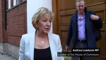Andrea Leadsom: 'We have to deliver Brexit'