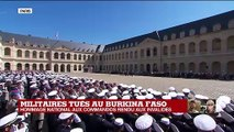 Hommage aux deux commandos : la Marseillaise retentit aux Invalides