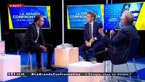 """""""L'Europe est une civilisation brillante. L'Union Européenne ne défend pas la civilisation européenne. Daniel Cohn-Bendit se fout des peuples européens."""""""