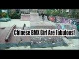 Chinese BMX Girl Are Fabulous ! | More China
