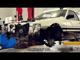 Initial D Fans repaired his AE 86 -Drive with Tsuchiya Keiich | More China