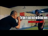 The Kung Fu coach teach you the basic moves - protect your self !|More China