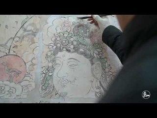 The Fresco Painter - paint the fresco hundred years ago | More China