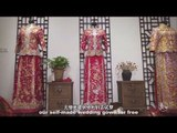 What Is On The Chinese Traditional Wedding Gown ? | More China