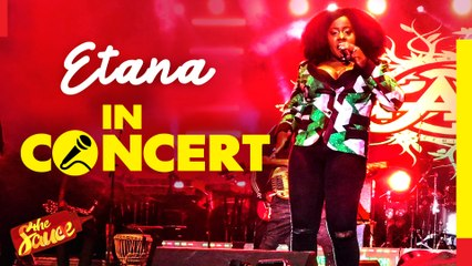 Grammy-nominated Etana performs 'Weakness In Me' live in Kenya