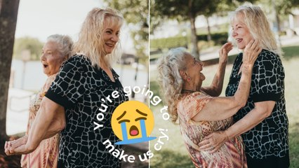 90-Year-Old Meets Daughter For First Time In First Look Photoshoot