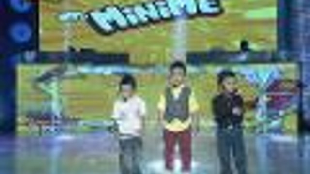"""Ryan, Jhong at Billy MiNiMEs kumanta ng """"Buko"""""""