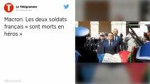 « Morts en héros pour la France » : Emmanuel Macron rend hommage aux militaires tués au Burkina Faso