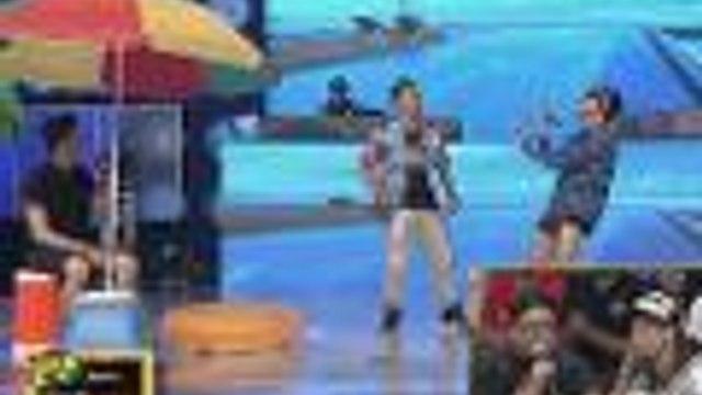 """Bagong dance craze na """"Boom Panes"""" sinayaw ni Vice at Jhong!"""