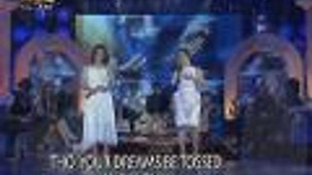"Haydee Mañosca sings ""You'll Never Walk Alone"" with Sheryn Regis"