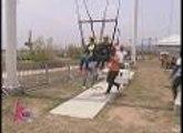 Giant swing experience nina Kris at Shaina