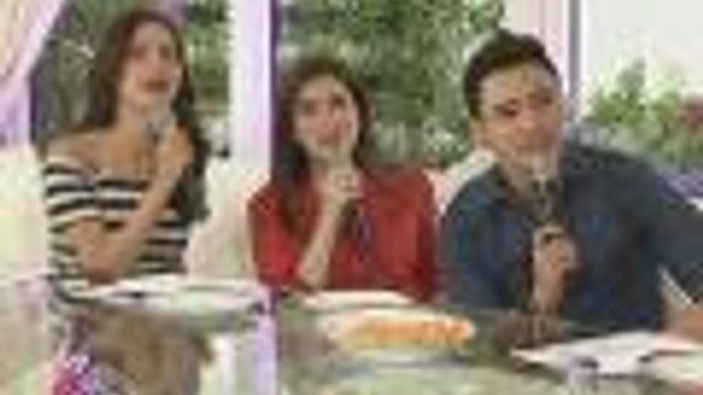 Angeline Quinto and Erik Santos on KrisTV
