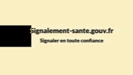 Un système sécurisé - Signalement-sante.gouv.fr