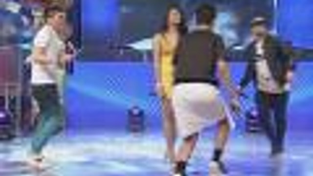 "Billy, Vhong at Vice, naki-uso sa ""Wiggle"" Dance"