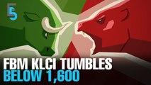 EVENING 5: KLCI slumps on escalating trade tensions