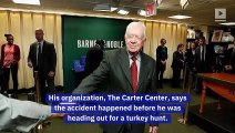 Jimmy Carter Recovering After Hip Surgery