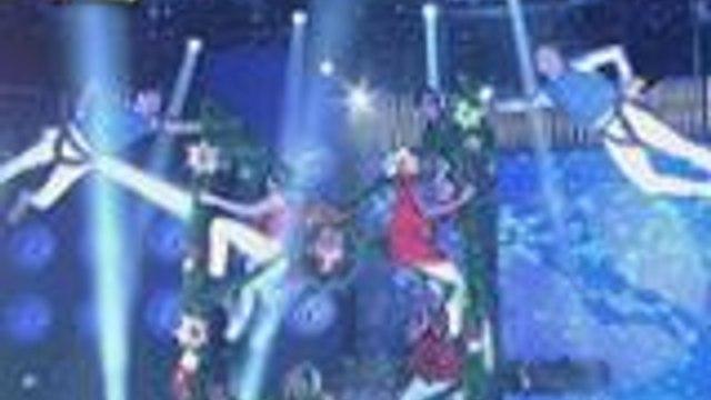 """Vice Ganda nahilo sa """"snowflakes"""" performance nila Karylle, Vhong at Jhong"""