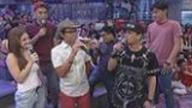 """Kuya Kim, Ryan at Jhong humirit ng """"Walis Tingting"""" knock knocks"""