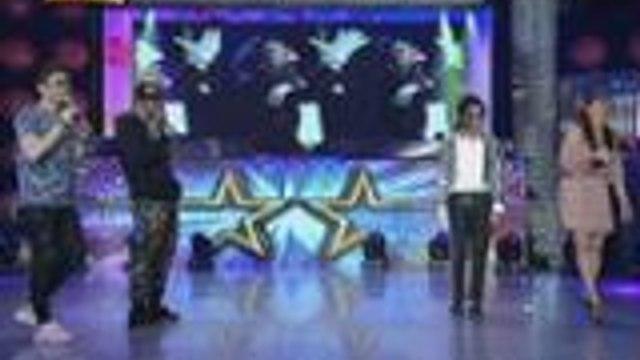 Billy, Vhong, Jhong at Vice nag-Moonwalk!