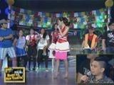 Kim at Alex, nag-showdown ng cheering at krumping sa Sine Mo To