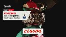 Finale Atalanta Bergame vs Lazio Rome, bande-annonce - FOOTBALL - COUPE D'ITALIE