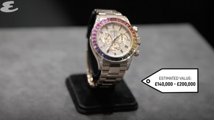Sotheby's watch auction