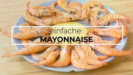 einfache Mayonnaise