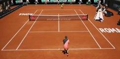 Tsitsipas Stefanos  vs Sinner Jannik Highlights  ATP 1000 Rome