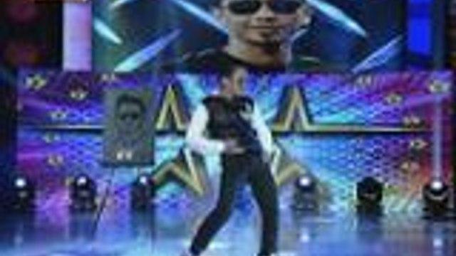 Kalokalike ni Jhong nagpasikat sa kanyang mga dance moves