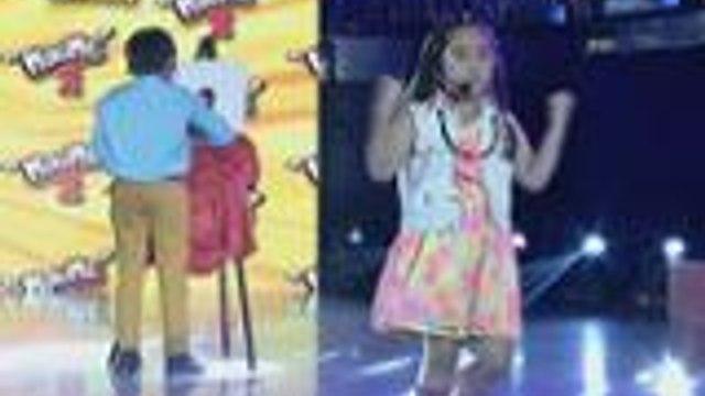 Mini Me nina Marvin Agustin and Jolina Magdangal tinodo ang acting sa weekly finals