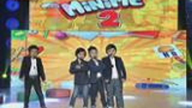 Mini Me nina Vhong, Billy, John Lloyd at Luis nagpasikat ala Kanto Boys sa It's Showtime