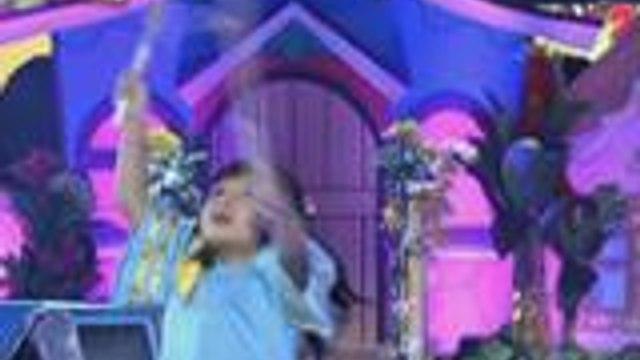 Mini Me ni Jolina Magdangal nagpasikat ng folkdance sa Grand Finals Week