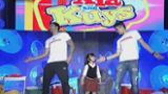 Billy and Vhong tinuruan si baby Xia ng NaeNae na sinamahan ng Belly Dancing