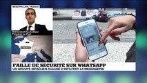 Faille de sécurité sur Whatsapp : un groupe israélien accusé d'infiltrer la messagerie