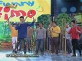 Vhong Navarro and Anne Curtis on Funny Time
