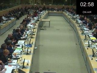 Réforme de la PAC : intervention du ministre en commission intégrale  au Conseil de l'Union européenne