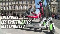 La mairie de Paris menace d'interdire les trottinettes électriques