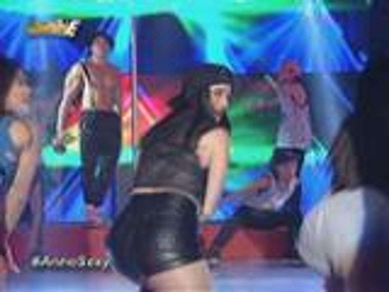 Sexy Hot Anne Curtis, pinainit ang tanghalian sa kanyang trending na twerking performance