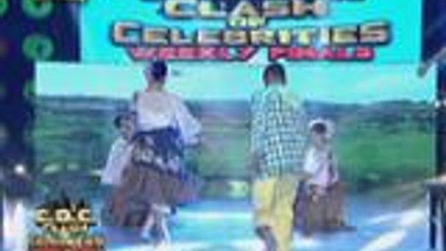 Kris Lawrence mas pina-intense ang Sayaw sa Bangko performance sa  It's Showtime Clash of Celebrities