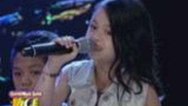 """Esang De Torres sings """"Flashlight"""" on GGV"""