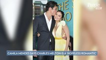 Camila Mendes Says Boyfriend and Costar Charles Melton Is 'For Sure' a 'Hopeless Romantic'
