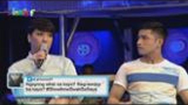 Handa bang iwan nina Topher, Richard at Mike si Ms. Pastillas kung may offer sa ABS-CBN na maging artista?
