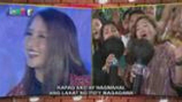 Jolina Magdangal nakipag-Singing Mo To kasama ang madlang people