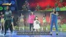 ToMiho humataw ng Christmas carol kasama sina Aime at Mommy Mercedes