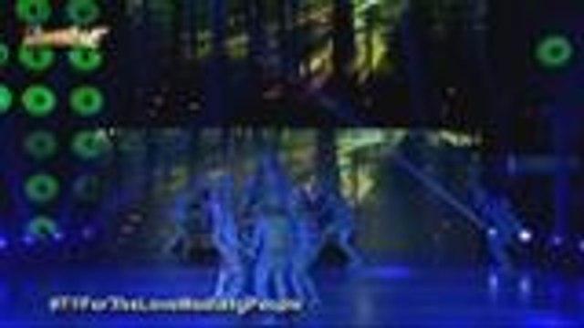 Mala-Avatar na performance of Dance Dynasty  ng Caloocan sa Halo Halloween